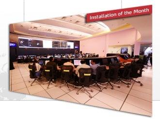 dnp denmark mars orbiter control room