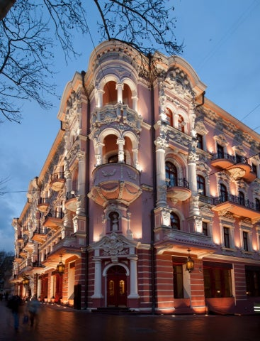 Starwood to open first luxury collection hotel in ukraine for Design hotel odessa