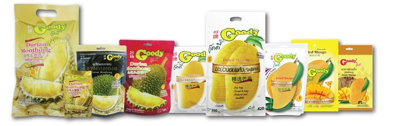 Thai exhibitor T K K Chanthaburi Food will debut their snacks at HOTELEX Shanghai.