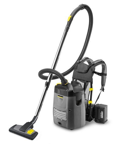 With the BV 5/1 Bp, Kärcher is launching a new backpack vacuum on the market.