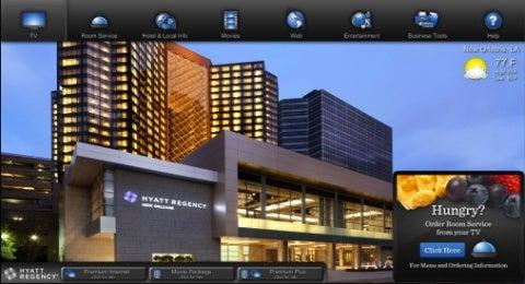 Hyatt Hotels - Roomlinx technology